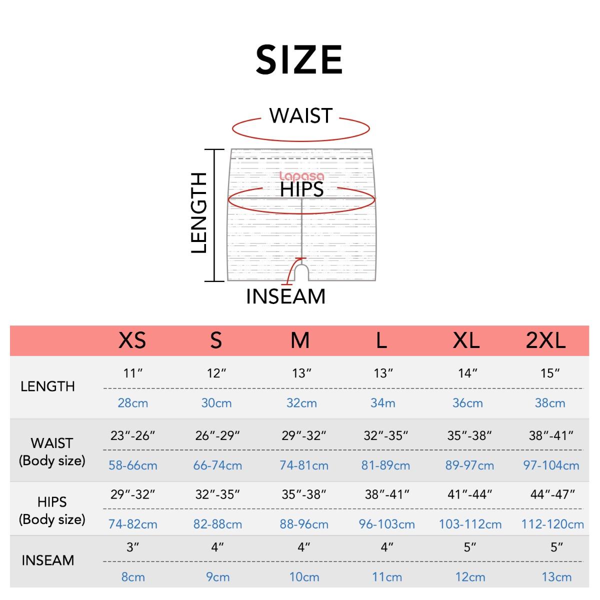 L09 size chart