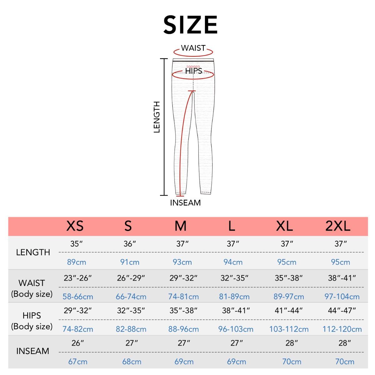 L22 size chart