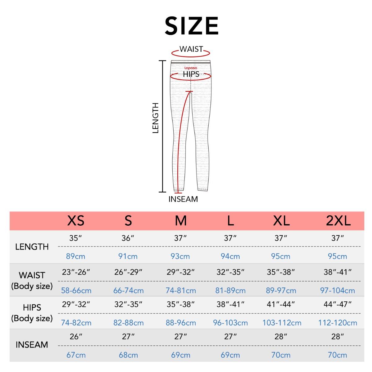 L36 size chart