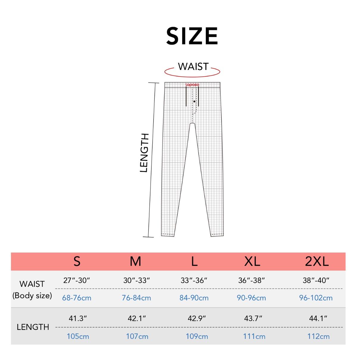 M38 size chart